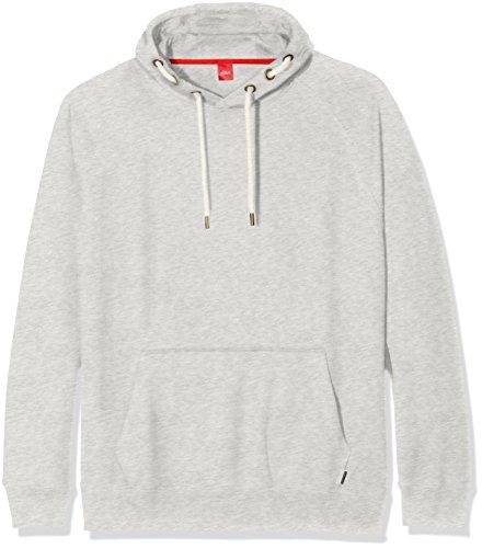 s.Oliver Big Size Herren Sweatshirt Grau (Lamb 0105)