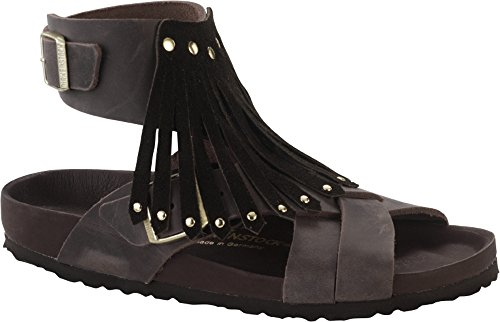 Birkenstock Tunis Tassel, Sandales femme Marron - Brown (Brown Exquisit)