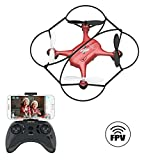 ATOYX AT-96 FPV Mini Drone, RC Quadcopter HD Wi-Fi Camera Live Video