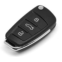 iekon 3botones Funda de Carcasa para llave mando de coche para Audi A2A3A4A6A6L A8TT