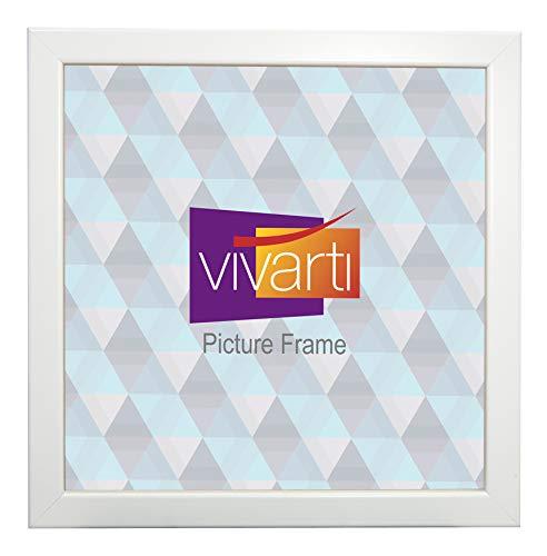 Vivarti Matt Weiß Box Bilderrahmen, 50x 50cm, -