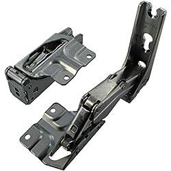 Bosch 12004051Genuine Original 37045.0/33065.0/33075.0Bosch/Neff/Siemens Bisagra para puerta de inferior y superior conjunto
