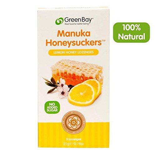 Green Bay Manuka Honig Lutschtabletten mit Zitrone 8Pro Pack