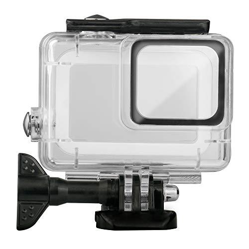 LanLan Housse de Protection Shell pour boîtier de plongée 45M Professionnel pour GoPro Hero 7 Silver/White