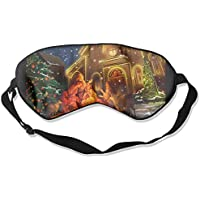 Merry Christmas Holiday 99% Eyeshade Blinders Sleeping Eye Patch Eye Mask Blindfold For Travel Insomnia Meditation preisvergleich bei billige-tabletten.eu