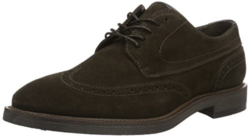 Marc O'Polo Lace Up Shoe, Richelieu homme Marron - Braun (Brown 765)