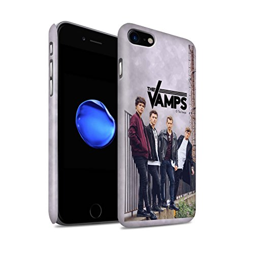 Offiziell The Vamps Hülle / Matte Snap-On Case für Apple iPhone 8 / Pack 6pcs Muster / The Vamps Fotoshoot Kollektion Sammelalbum
