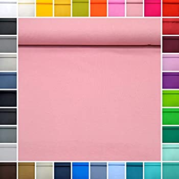 6 Baumwolljersey uni 4 Farben 50 x 150 Nr