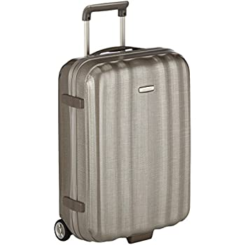 Samsonite Lite-Cube Spinner 55/20 Hand Luggage , 55 cm, 37 L, Grey ...