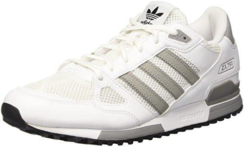 adidasZx 750 - scarpe da ginnastica uomo, Bianco (Ftwr White/Solid Grey/Core Black), 41 1/3 EU