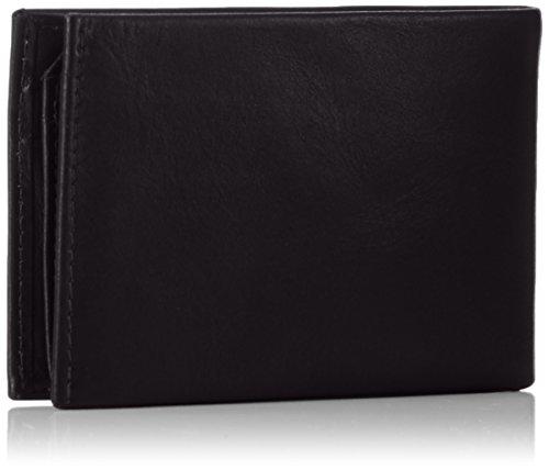 Picard Herren Apache Geldbörsen, 10x7x2 cm Schwarz (Schwarz)