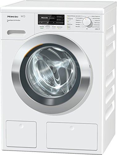 Miele WKH 122 WPS Waschmaschine Frontlader/A+++/130 kWh/Jahr/1600 UpM/9 kg Schontrommel/59min-Waschprogramm mit PowerWash 2.0/Automatische Dosierung/Fleckenoption