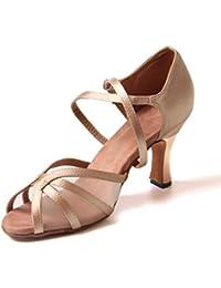 Jywmsc Donne Sala da Ballo Scarpe da Ballo Le Signore Latino Salsa Tango  Danza Scarpe be0d7135312