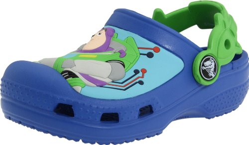 crocs Woody and Buzz Lightyear, Mädchen Clogs, Blau -