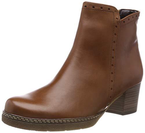 Gabor Shoes Damen Comfort Basic Stiefeletten Braun (Whisky (Micro) 52) 41 EU