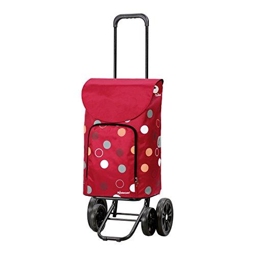 Andersen Shopper Quattro und 41 Liter Tasche Kira rot mit Kühlfach
