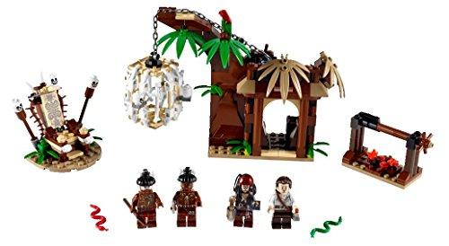 LEGO Piratas Caribe 4182 - La Huída Poblado Caníbal