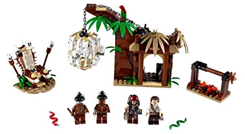 flying dutchman lego LEGO Pirates of the Caribbean 4182 - Flucht vor den Kannibalen