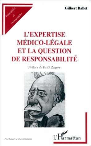 L'expertise médico-légale et la question de responsabilité