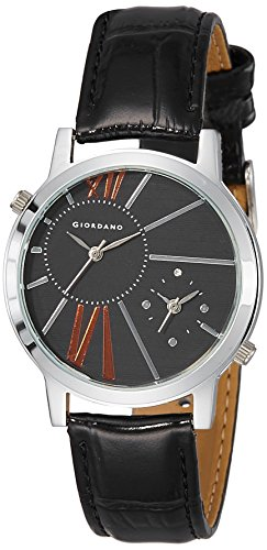Giordano 60057|P11641 Analog Black Dial Women's Watch image