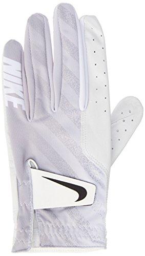 Nike Herren Tech Left Regular Golf Handschuhe, Weiß (White/Black/Wolf Grey), M (Personalisierte Golf-handschuhe)