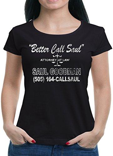TLM Better Call Saul T-Shirt Damen XL (Kostüm Dea Frauen)