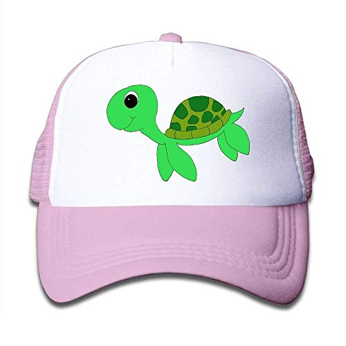 Wamnu Cute Sea Turtle Youth Toddler Mesh Hats Boys and Girls Baseball Trucker Cap