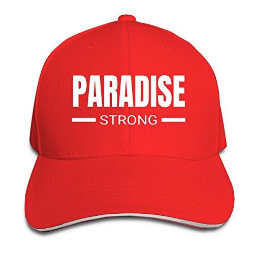 Preisvergleich Produktbild Klassisch Paradise Strong California Baseball Cap Einstellbare Peaked Sandwich Hüte