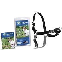 PetSafe/Premier Dog Nylon EASY WALK HARNESS Reduce Pulling Small Black & Silver