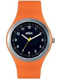 Brown Unisex Analogue Watch BN0111BKORG Quartz Silicone 66538