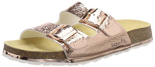 Superfit Mädchen Fussbettpantoffel Pantoffeln, Pink (Bronze), 30 EU