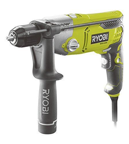 Ryobi 4892210126788 Perceuse à Percussion, Multicolore