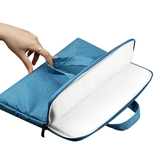 YiJee Sleeve per Laptop Computer Portatile Macbook Air Pro con Display Retina 11.6-15.6 Pollici 13.3 Inch Light Blu