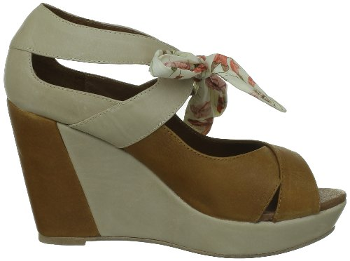 One Step Vanida, Sandales femmes Beige fauve