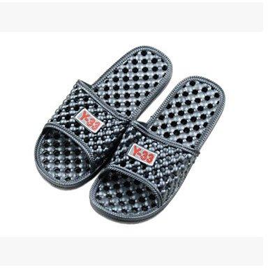 zhENfu donna pantofole & amp; flip-flops Estate Slingback Casual in gomma tacco piatto Green