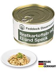 Fertiggericht Dose Bratkartoffeln mit Speck und Ei 400 g, MHD 10 Jahre