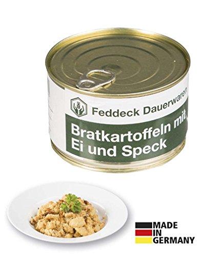 Fertiggericht Dose Bratkartoffeln mit Speck und Ei 400 g (14,88 € / kg)