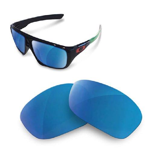 sunglasses restorer Kompatibel Ersatzgläser für Oakley Dispatch 1, Polarisierte Blue Mirror Mirror.