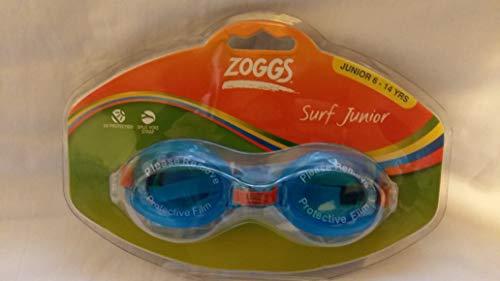 Zoggs Surf Junior - Gafas de natación (6-14 años), Color Azul