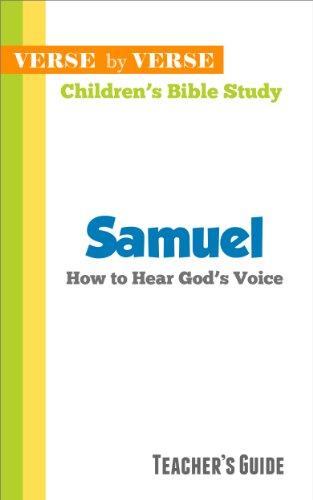 Samuel: How to Hear God's Voice (Verse by Verse Children's
