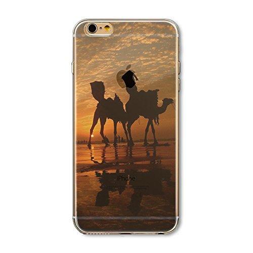 Coque iPhone 6 Plus 6s Plus Housse étui-Case Transparent Liquid Crystal en TPU Silicone Clair,Protection Ultra Mince Premium,Coque Prime pour iPhone 6 Plus 6s Plus-Paysage-style 18 3