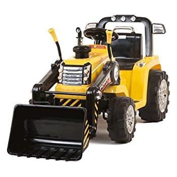 Schema Elettrico Trattore : Homcom escavatore elettrico trattore per bambini scavatrice