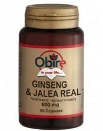 Ginseng & Jalea Real 600 mg. 60 capsulas