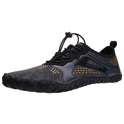 Zapatos Playa,Verano Aqua Zapatos Par Nadar Al Aire Libre Wading Shoes Quick-Drying Luz Playa Hombres...