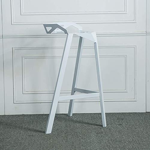 Sitzmöbel Lounge-stuhl (Lässige Sitzmöbel, Barhocker Hochhocker Lounge Stuhl Stuhl Barhocker Iron Art Geometrie Der Rückenlehne Retro Starbucks, BOSSLV, c)