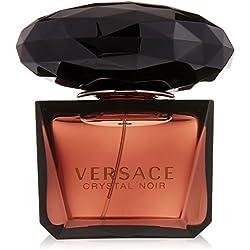 VERSACE Crystal Noir Eau De Parfum Spray for Women, 3 Ounce by Versace