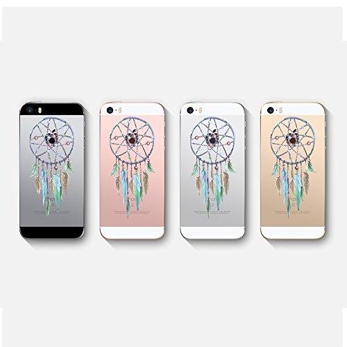 iPhone 5S Coque Pacyer® iPhone SE case Housse Étui Cuir Cover Couverture Fonction Support avec Fermeture Aimantée de Feuille Motif iPhone 5 Coque Bumper Panda 2