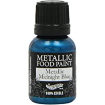 Rainbow Dust Metallic-Lebensmittelfarbe Midnight Blue, 1er Pack (1 x 25 ml)