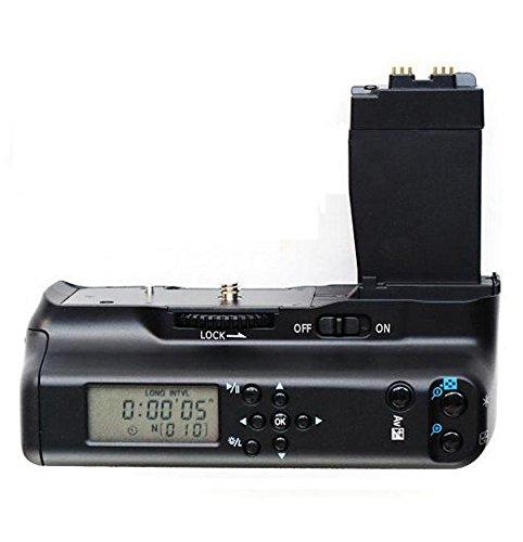 Batteriegriff Akkugriff Battery Grip mit LCD Bildschirm Akku Ersatz BG-E8 - Halten 2 Stücke LP-E8 Batterien oder 6 Stücke AA Batteries für Canon EOS 550D/T2i 600D/T3i 650D/T4i 700D/T5i (Lcd Für Canon T3i Monitor)