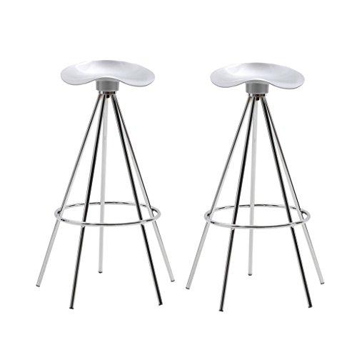 XUEPING Barhocker/Stuhl Counter Chair Weiß Bürostuhl Küche Restaurant Barhocker/Stuhl Registrierkasse an der Rezeption Hoher Hocker Vier Jahreszeiten Einzel-/Doppel Fünf-Fuß-Hocker Stuhl (Doppel-wechsel Moderne)